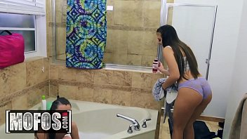 Girls Gone Pink - (Anya Olsen, Gia Derza) - Cumming in the Communal Showers - MOFOS