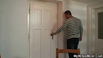 He finds m. inlaw naked and bangs her
