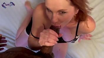Hotwife April slobbers all over my BBC