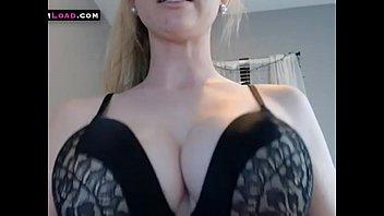 Big tits blonde with fat pussy orgasm on webcam 13 min