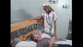 Horny patient banging ebony nurse Lovely Lexi after getting a BJ