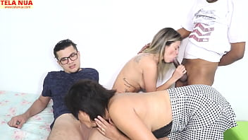 CHATTING A SPICY CHAT WITH A LOT OF BLOWMILL, LESBO, MENAGE AND A TASTY SURUBA - COUPLE SEX APEEAL - MANUH CORTEZ - BIG PAULO MARCELO