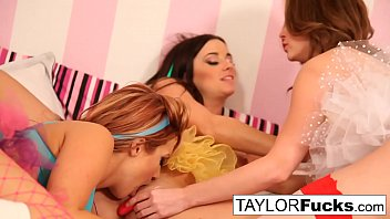 Busty Taylor Vixen Invites Emily Addison