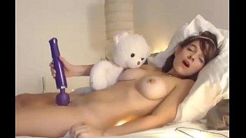 Super Cute Teen Masturbating Until Orgasms On Webcam