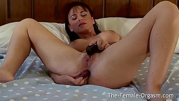 Anal Stimulation While Masturbating Gives Hot Babe An Awesome Pussy Pulsing Orgasm