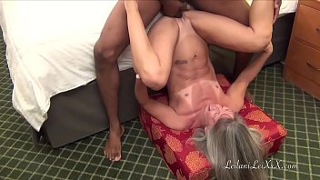 Milf Leilani Visits Her BBC Lover