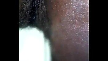 vibrating fingering asshole