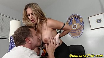 thumb Busty Police Woman Spanked And Pussy Banged