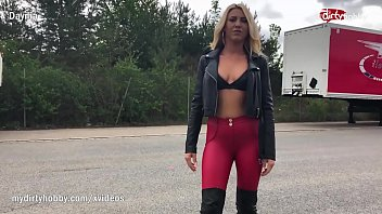 MyDirtyHobby - Kinky blonde with big tits doing anal with a truck driver