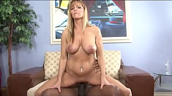Nicole Moore and her black toy