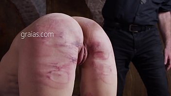 B. Ass Spanking With Cane