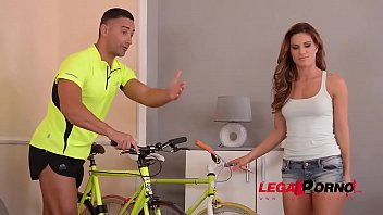 Bike ride leads to extra deep anal drilling with long-haired stunner Tyra Moon GP775