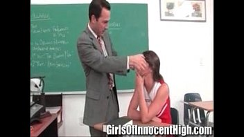 Skinny cheerleader sex Brunette cheerleader gets a special lesson from her professor - teen 01 01