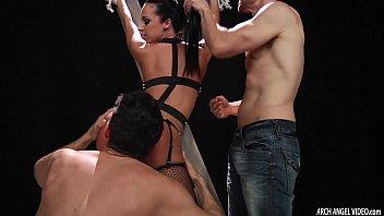 Jada Stevens loving hard anal and double penetration sex 12 min