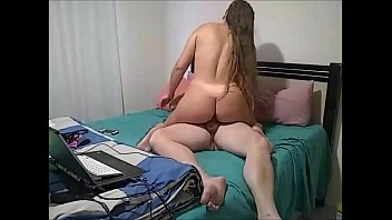 Young latina wife enjoys nonstop sitting on thick cock - liberal amateur couple صورة