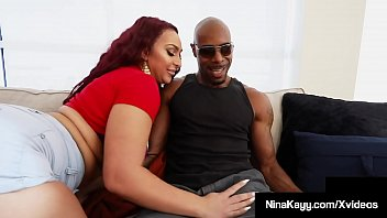 Streaming Video Thick Horny Nina Kayy Stalks, Bangs & Blows Big Black Cock! - XLXX.video
