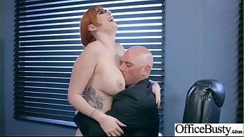 (Lauren Phillips) Big Boobs Office Girl Like Hardcore Bang At Work vid-18