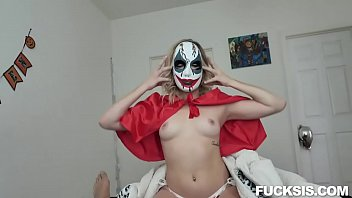 Katie Kush Scary Sister's Halloween FUCKPARTY
