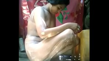 Hot girl bath