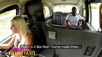 FemaleFakeTaxi Blonde gets a wet pussy after attempted robbery 11 min