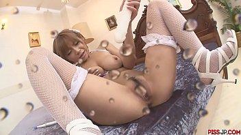 Big Titted MILF Sumire Matsu Squirts From Masturbating - More at Pissjp.com