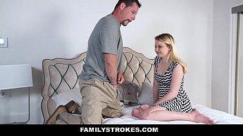 Familystrokes - Belajar Tentang Seks (sophie Sativa) Dari Ayah Tiri