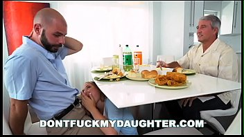 Don't Fuck My Daughter - Alyssa Cole Gets Her Way With Daddy's Friend