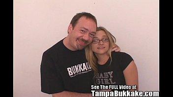 Jill's Mini Tampa Bukkake Bang 4 min
