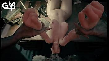 Jill Valentine Deepthroat (GeneralButch)