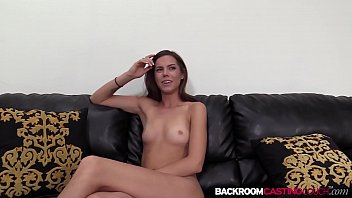 Nubile amateur Eva ass creamed on the casting couch image