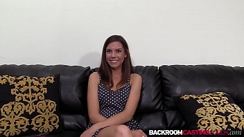 Nubile amateur Eva ass creamed on the casting couch thumbnail