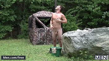 Men.com - (Kaden Alexander, Paul Canon) - The Hunt Part 1 - Drill My Hole