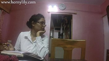 Indian Sex Teacher Horny Lily Love Lesson