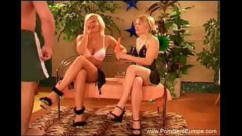 Euro Threesome With German Blonde Babes Just Feel Cock