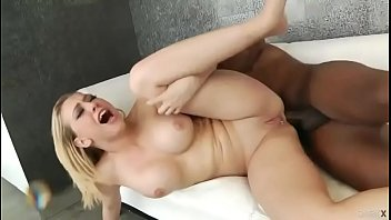 Blonde Squirts During Anal Sex