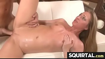 Teen Latina Squirts while getting fucked 28