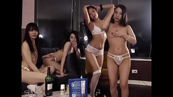 Asian webcam girls are having a party