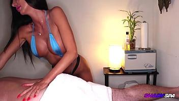 Inappropriate Massage with STUNNING NIKITA – Shady Spa
