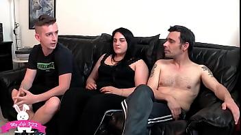 Una coppia Italiana al suo primo casting.