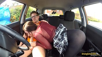 Bus driving experience erotica Lola fae fucked by driving instructor