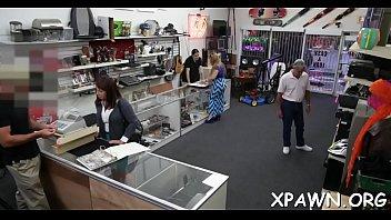 Sex in shop is happening