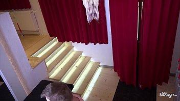 REIFE SWINGER - Horny German amateur blondie Mariella Sun gets fucked in the bed