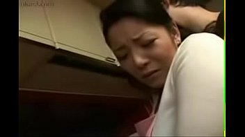Hot asian kitchen sex Hot japanese asian mom fucks her son in kitchen