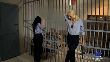 Very hot babysitter Ivana and Honey ass fucked by a prisoner