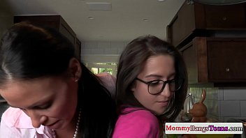 Mommy and hairy stepdaughter fuck teen 8 min