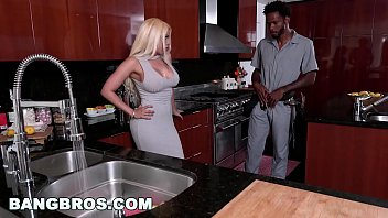 Big latina booty black dick Bangbros - latina with big ass, luna star, gets a big black cock mc15986