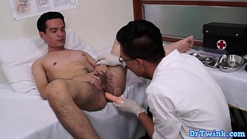Stockton ca gay administrator - Doctor twink administers dildo pleasure