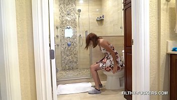 Step-Daughter Of The Year - Hazel Heart Fucks Her Step-Daddy - Tight Teenage Pussy In The Shower HD