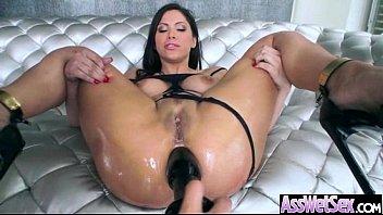(aleksa nicole) Big ass Olied Girl Real Love Anal Bang movie-04