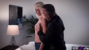 Step niece getting her pussy fucked hard by her pervy step uncle